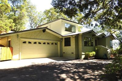 Ukiah Single Family Home For Sale: 51 Terrace Drive