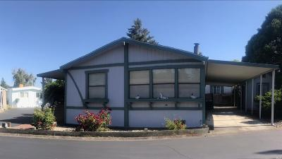 Sonoma Mobile Home For Sale: 209 Seven Flags Circle #209