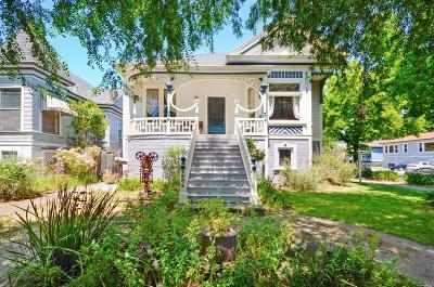 Napa Single Family Home For Sale: 1206 Oak Street