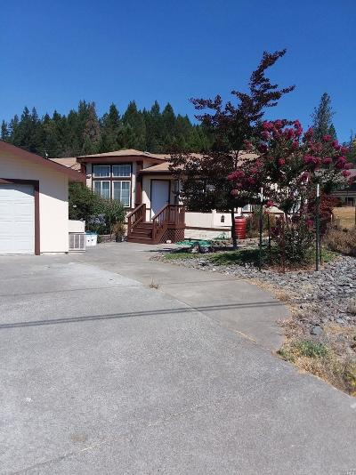 Willits CA Single Family Home For Sale: $279,500