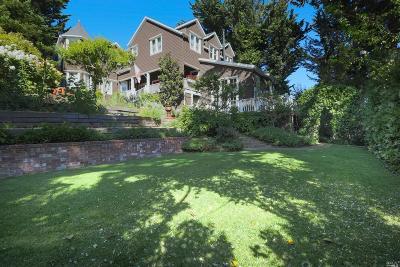Mill Valley Single Family Home For Sale: 475 Molino Avenue