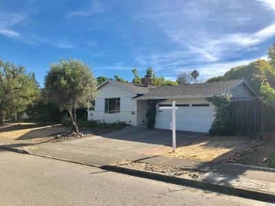 San Rafael Single Family Home Contingent-Show: 285 Orange Blossom Lane