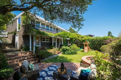 Mill Valley CA Single Family Home For Sale: $2,195,000