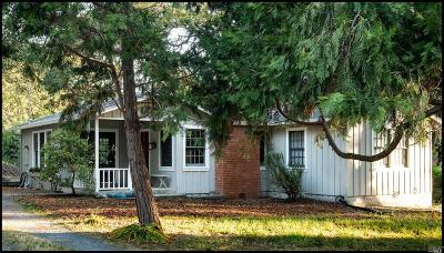 Sebastopol Single Family Home For Sale: 7800 Elphick Road