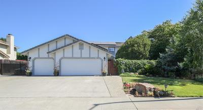 Vacaville CA Single Family Home For Sale: $650,000