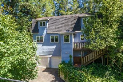 Guerneville CA Single Family Home For Sale: $679,000