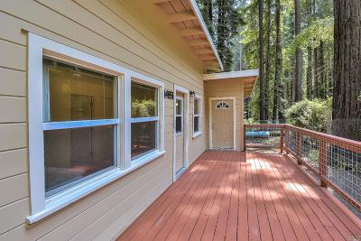 Guerneville Single Family Home For Sale: 14851 Willow Road