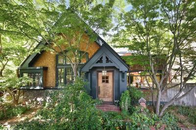 San Anselmo CA Single Family Home For Sale: $3,295,000