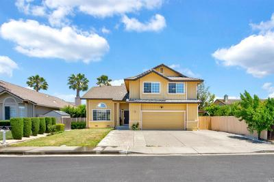 Fairfield Single Family Home For Sale: 2630 Burrell Drive