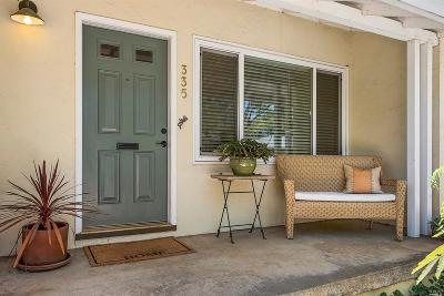 Napa County Single Family Home For Sale: 335 Minahen Street