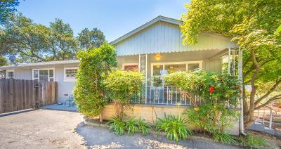 Napa CA Single Family Home For Sale: $799,000
