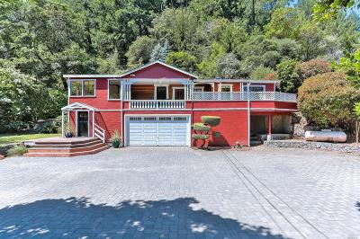 Forest Knolls Single Family Home For Sale: 110 Resaca Avenue