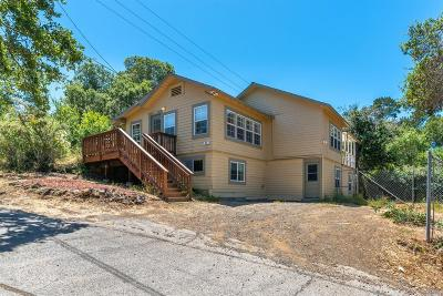 Marin County Single Family Home For Sale: 60 Hillside Terrace