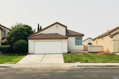 Suisun City Single Family Home For Sale: 1405 Tillman Street