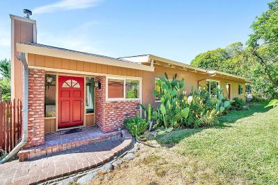 Sebastopol Single Family Home For Sale: 117 Montgomery Road