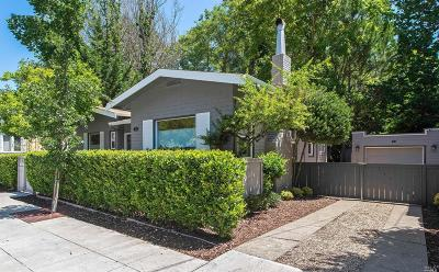Marin County Single Family Home For Sale: 78 Sir Francis Drake Boulevard
