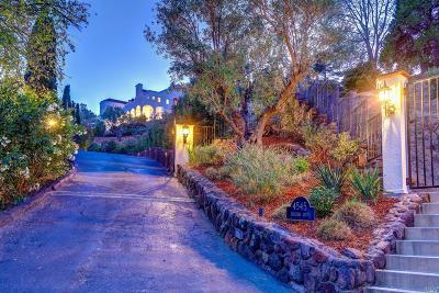 Tiburon Single Family Home For Sale: 4545 Paradise Drive
