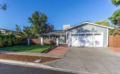 Napa County Single Family Home For Sale: 4436 Springwood Drive