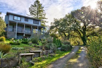 Santa Rosa Single Family Home For Sale: 5365 Sonoma Mountain Road