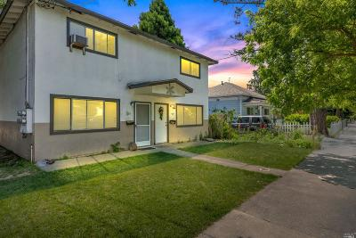 Napa Multi Family 5+ For Sale: 332 Brown Street