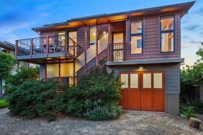 Stinson Beach Single Family Home For Sale: 4 Francisco Patio