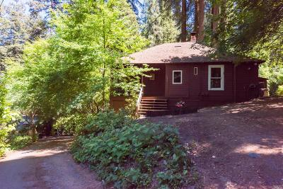 Camp Meeker Single Family Home For Sale: 173 Redwood Avenue