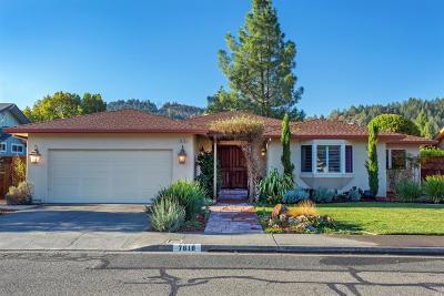 Single Family Home For Sale: 7618 Oak Leaf Drive