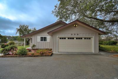 Petaluma Single Family Home For Sale: 958 Thompson Lane