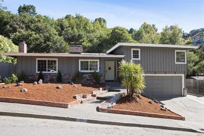 San Rafael Single Family Home Contingent-Show: 50 Convent Court