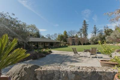 Napa Single Family Home For Sale: 1064 Bell Lane