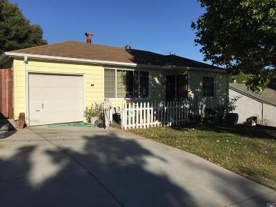 Benicia Single Family Home For Sale: 59 La Cruz Avenue