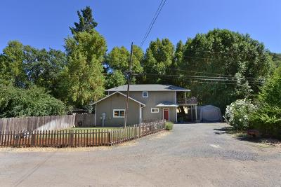 Ukiah Single Family Home For Sale: 1364 Helen Avenue