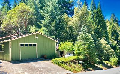Willits Single Family Home For Sale: 25650 Poppy Drive