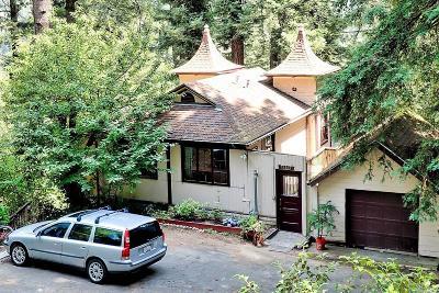 Monte Rio Single Family Home For Sale: 21506 Rio Vista Terrace