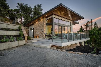 Glen Ellen Single Family Home For Sale: 2205 Trinity Road