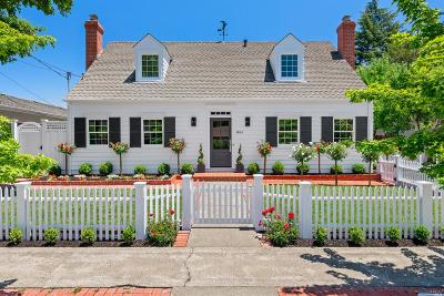 Sonoma Single Family Home For Sale: 866 4th Street East