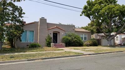 Vallejo Single Family Home Contingent-Show: 1400 Beach Street