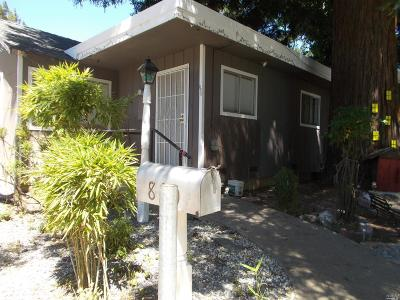 Ukiah CA Multi Family 2-4 For Sale: $675,000