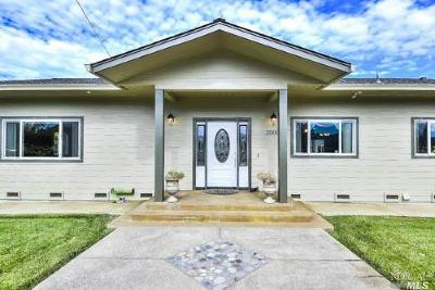 Ukiah Single Family Home For Sale: 2000 Sanford Ranch Road