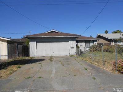 Vallejo Single Family Home For Sale: 828 Grant Street