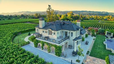 St. Helena CA Single Family Home For Sale: $11,700,000