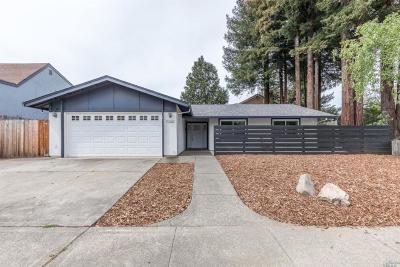 Napa Single Family Home For Sale: 4023 Tokay Drive