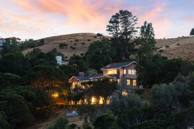 San Anselmo Single Family Home For Sale: 100 West Oak Knoll Drive