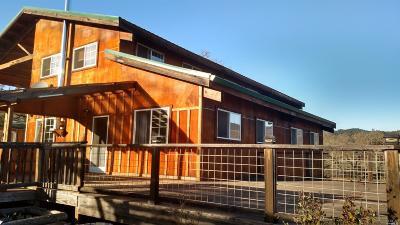 Covelo Single Family Home For Sale: 23019 Covelo Refuse Road