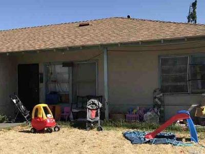 Fairfield Single Family Home For Sale: 1746 Indiana Street