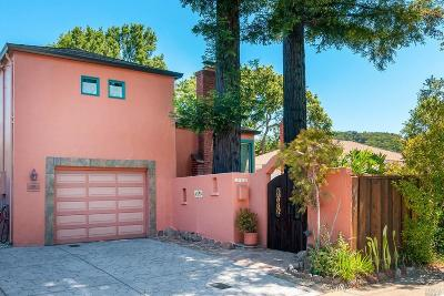 San Anselmo Single Family Home For Sale: 1420 Sir Francis Drake Boulevard