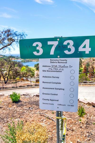 Santa Rosa Residential Lots & Land For Sale: 3734 Skyfarm Drive