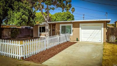 Vallejo Single Family Home For Sale: 430 Grennan Street