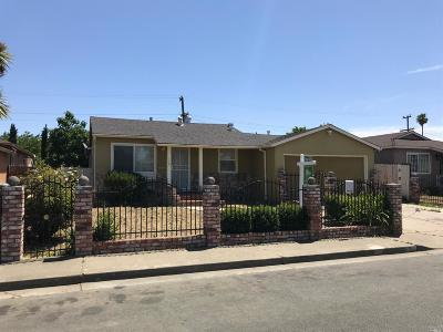 Vallejo Single Family Home For Sale: 128 Sawyer Street