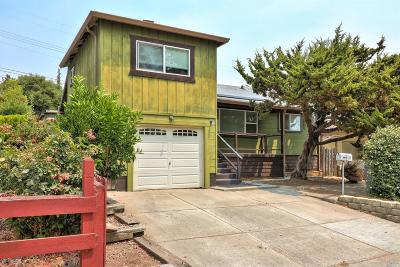 Vallejo Single Family Home For Sale: 646 Henry Street